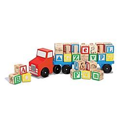 Melissa & Doug® 28-Piece Alphabet Truck Playset