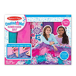 Melissa & Doug® Created by Me! Flower Fleece Quilt