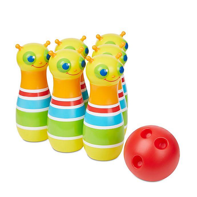 Alternate image 1 for Melissa & Doug® Giddy Bug Bowling Set