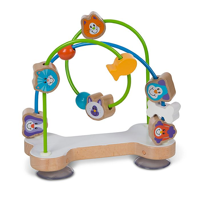 Alternate image 1 for Melissa & Doug® First Play Pets Bead Maze