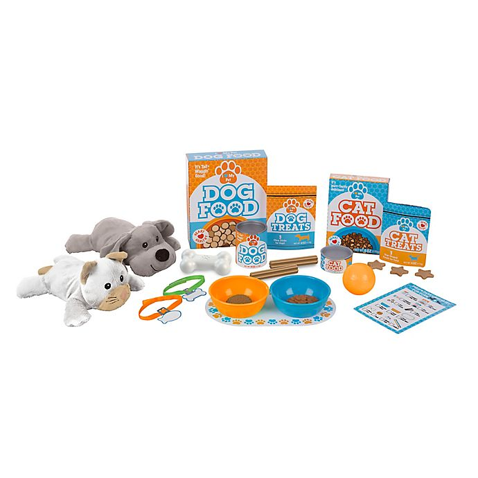 Alternate image 1 for Melissa & Doug® 24-Piece Feed & Play Pet Treats Play Set