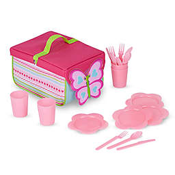 Melissa and Doug® Cutie Pie Butterfly 20-Piece Picnic Set