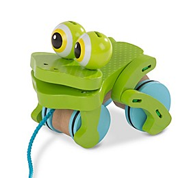 Melissa and Doug® First Play Frolicking Frog Pull Toy