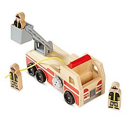 Melissa & Doug® Fire Truck Playset