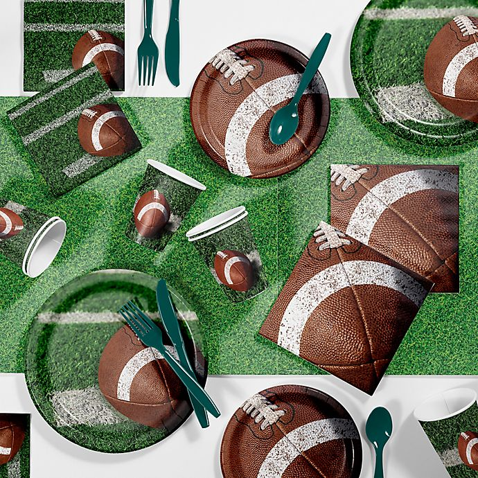 Alternate image 1 for Creative Converting™ 85-Piece Tailgate Rush Party Supplies Kit
