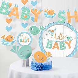 "Creative Converting™ 6-Piece ""Hello Baby"" Boy Party Supplies Kit"