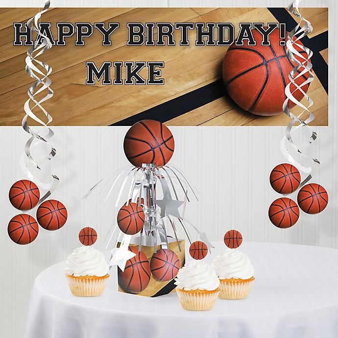 Alternate image 1 for Creative Converting™ Basketball Party Supplies Kit