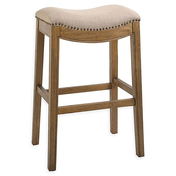 Alternate image 1 for New Ridge Home Goods Sadie Contoured Bar and Counter Stools