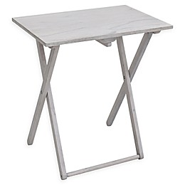 Bee & Willow Home Folding Acacia Snack Table