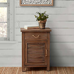 Bee & Willow™ Home Wood Shutter Cabinet