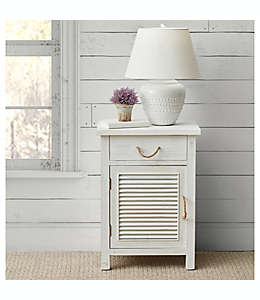 Gabinete de madera Bee & Willow™ Home en blanco deslavado