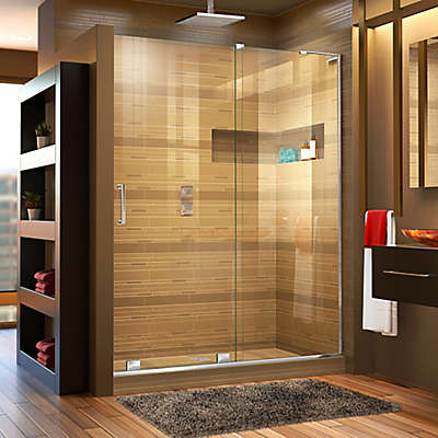 DreamLine® Mirage-X 56-60-Inch x 72-Inch Right Frameless Sliding Shower Door