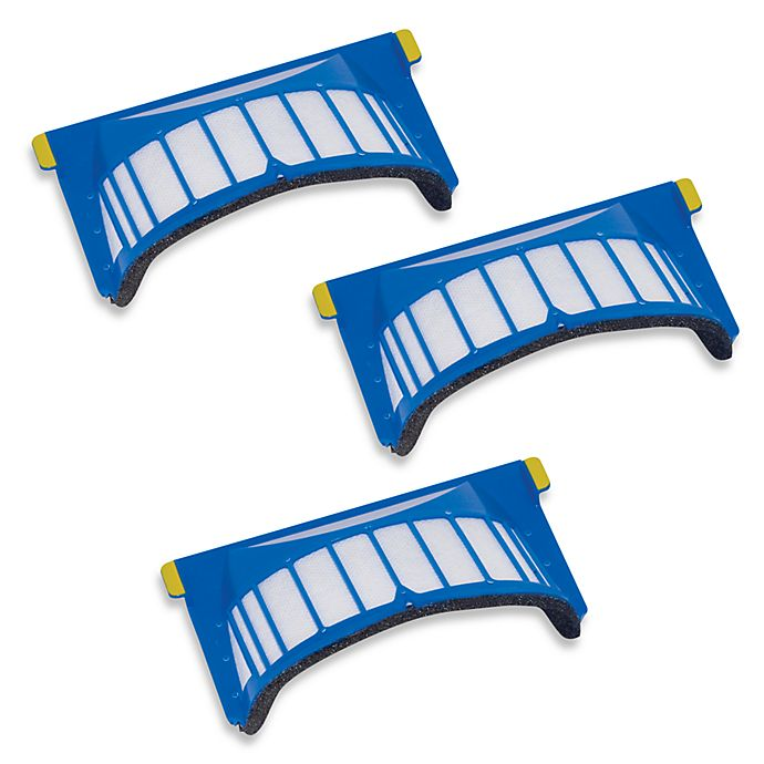 Alternate image 1 for iRobot® Roomba® 500 & 600 Series 3-Pack AeroVac™ Filters
