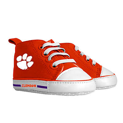 Baby Fanatic Size 0-6M Clemson University High Top Pre-Walkers