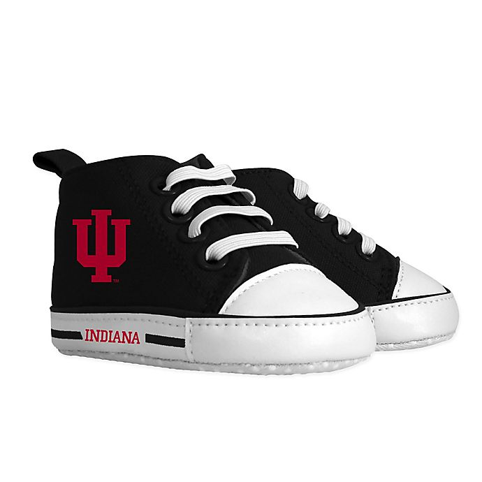 Alternate image 1 for Baby Fanatic® NCAA Indiana University High Top Sneaker