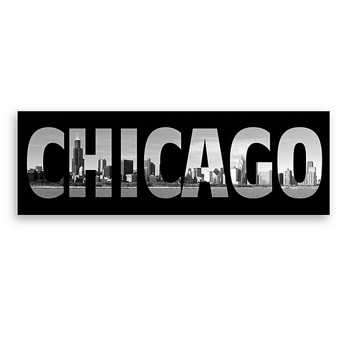 Alternate image 1 for Chicago Black and White Wall Art