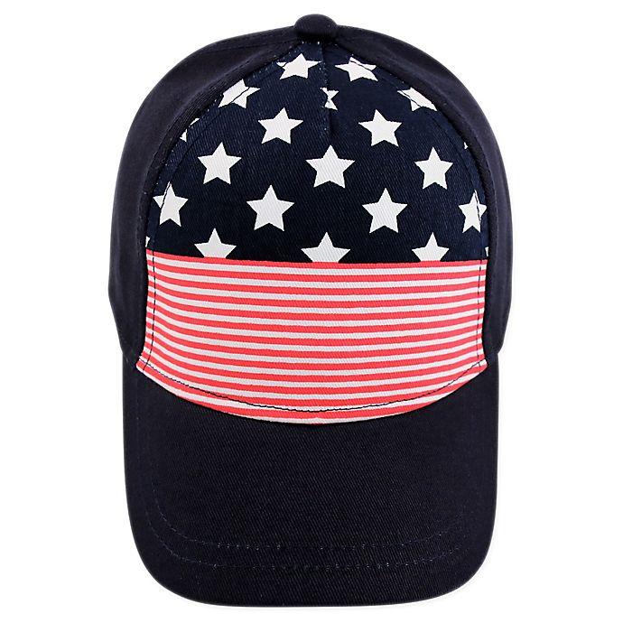 Alternate image 1 for Addie & Tate Americana Baseball Cap in Blue
