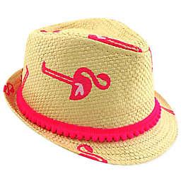 Addie & Tate Pink Flamingo Fedora Hat