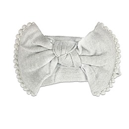 NYGB™ Large Bow Headband in Grey