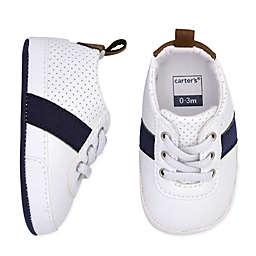 carter's® Striped Sneaker in Navy/White