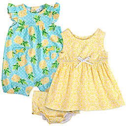 4dcb2bdd5af Baby Essentials 3-Piece Pineapple Romper