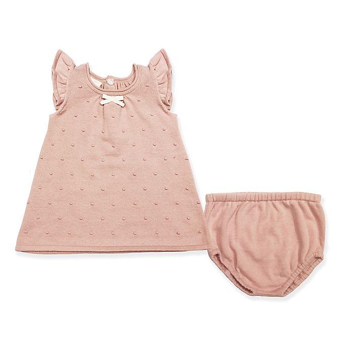 8da374eada Clasix Beginnings® 2-Piece Sweater Dress and Panty Set in Pink ...