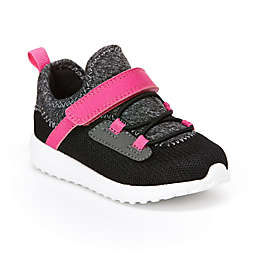 carter's® Girl's Size 5 Sneakers in Black/Grey