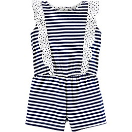 carter's® Sleeveless Striped Romper