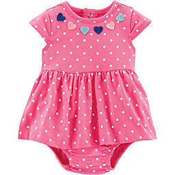 carter's® Dot and Heart Bodysuit Dress