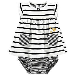 carter's® Stripe Heart Sunsuit
