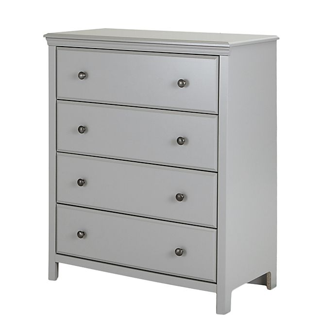 Alternate image 1 for South Shore Cotton Candy 4-Drawer Dresser