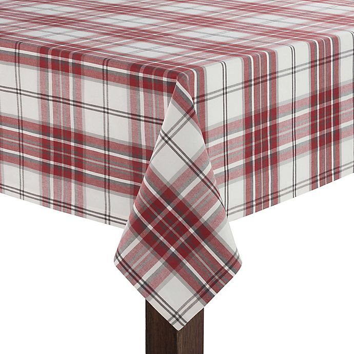 Ugg 174 Bristol Plaid Tablecloth Collection Bed Bath Amp Beyond