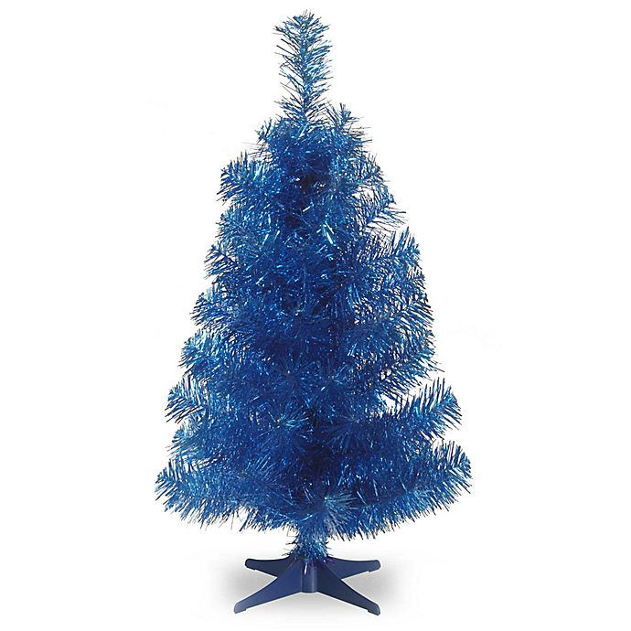 Alternate image 1 for National Tree 3-Foot Tinsel Christmas Tree