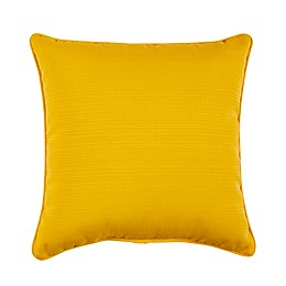 Solaris Forsyth Solid Square Outdoor Throw Pillow