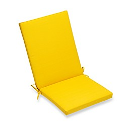 Forsythe Outdoor Folding Seat Cushion in Lemon