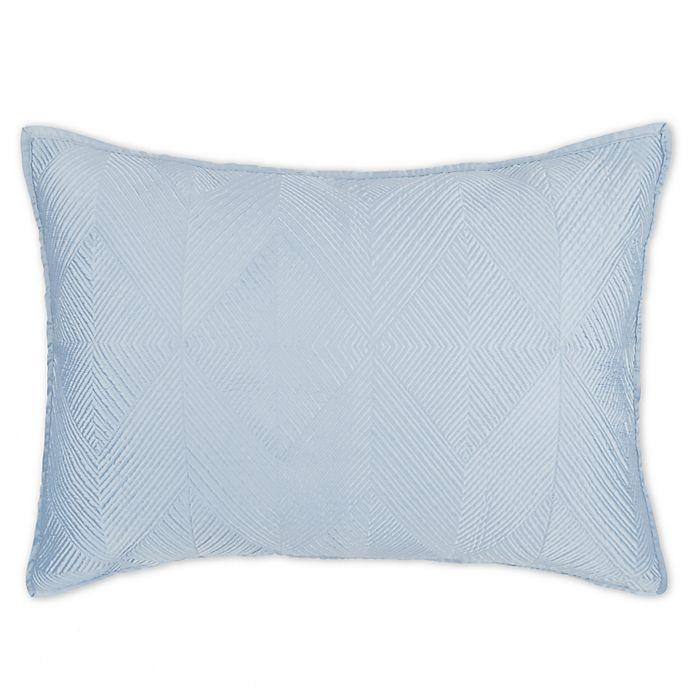 Alternate image 1 for Wamsutta® Bliss Standard Pillow Sham in Light Blue
