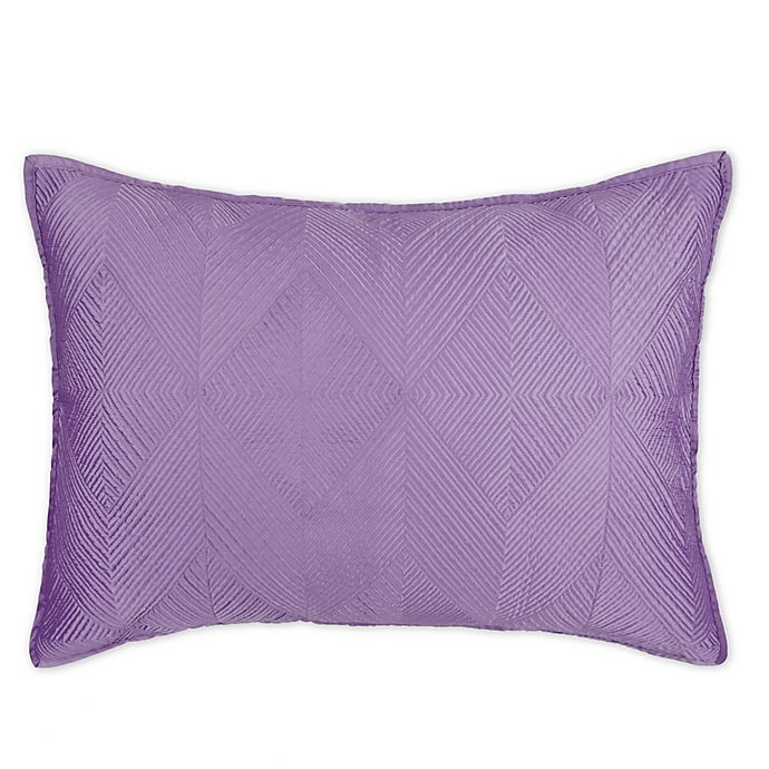 Alternate image 1 for Wamsutta® Bliss Standard Pillow Sham in Purple