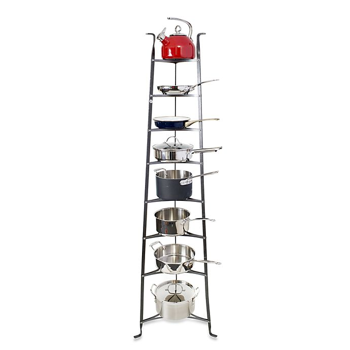 Alternate image 1 for Enclume® Premier Collection 8-Tier Cookware Stand Knock Down