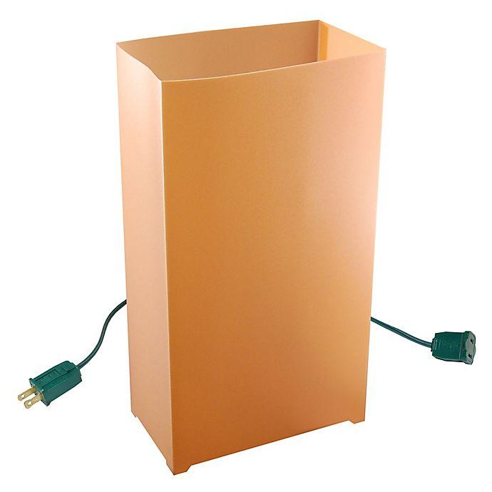 Alternate image 1 for Electric Tan 10-Count Luminaria Kit