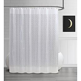 Steve Madden Star PEVA Shower Curtain