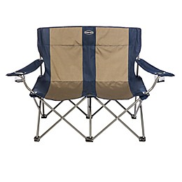 Kamp-Rite® Double Folding Chair in Blue/Tan