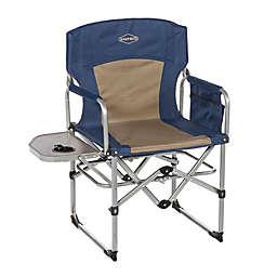 Kamp-Rite® Compact Director's Chair in Blue/Tan
