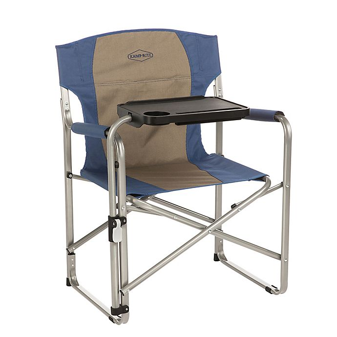 Miraculous Kamp Rite Folding Directors Camp Chair With Swivel Tray Camellatalisay Diy Chair Ideas Camellatalisaycom