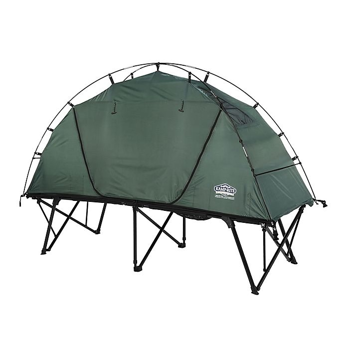 Alternate image 1 for Kamp-Rite® 1-Person Compact Tent Cot in Green
