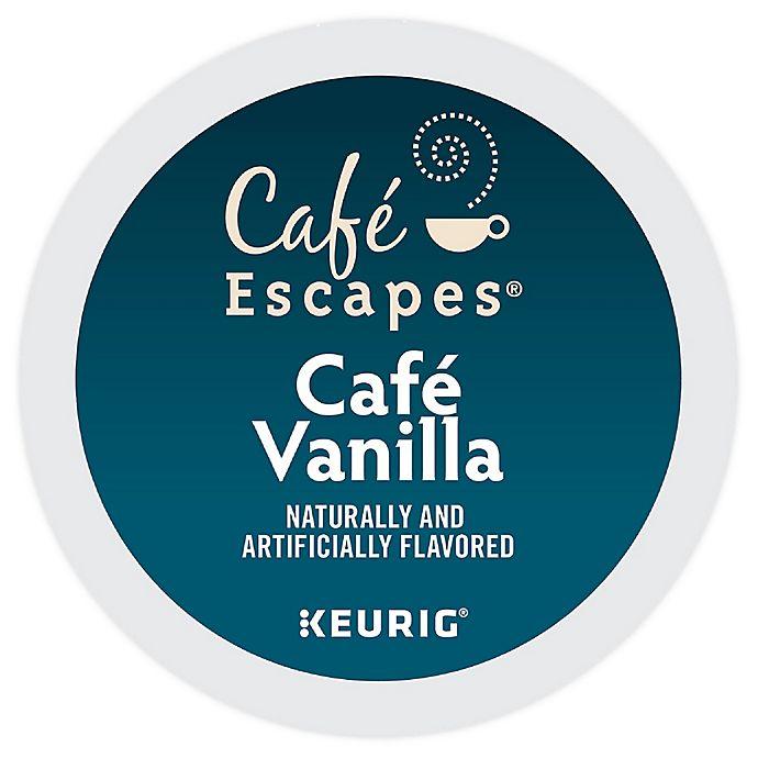 Alternate image 1 for Café Escapes® Café Vanilla Keurig® K-Cup® Pods 16-Count
