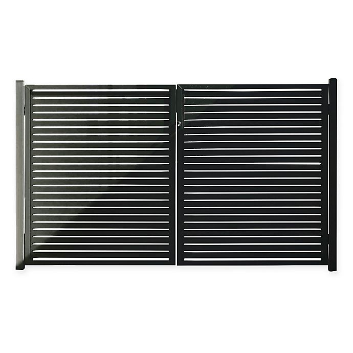 Alternate image 1 for Aluminum Quick Screen Slat Fencing Collection