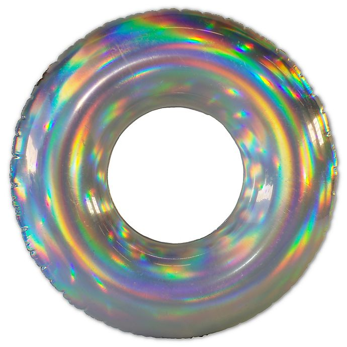 Alternate image 1 for Pool Candy Holographic Beach and Pool Tube