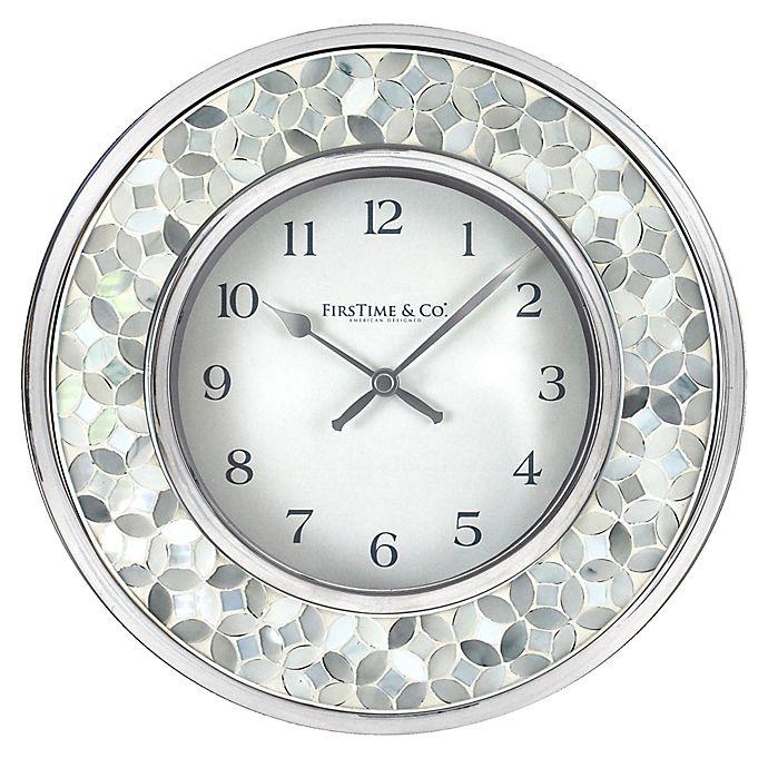 Firstime 174 Arabesque Mosaic Wall Clock Bed Bath Amp Beyond