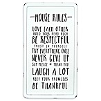 Prinz Typography 27-Inch x 15-Inch Metal Art in White