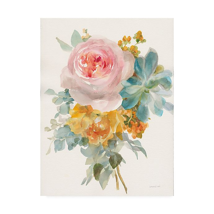 Alternate image 1 for Garden Bouquet II 14-Inch x 19-Inch Wrapped Canvas Wall Art